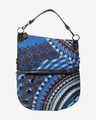 Desigual Blue Friend Folded Handtasche